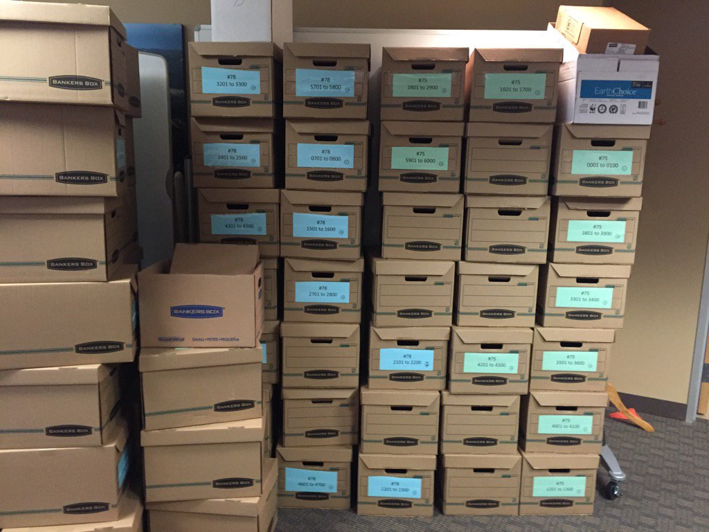 Proponents of fracking measures turned in lots of boxes with very few petitions in them. #copolitics https://t.co/5JwIQrVmNd