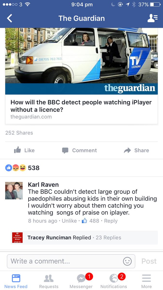 Comment of the day on @guardian Facebook page. https://t.co/IRWXlWBXiL