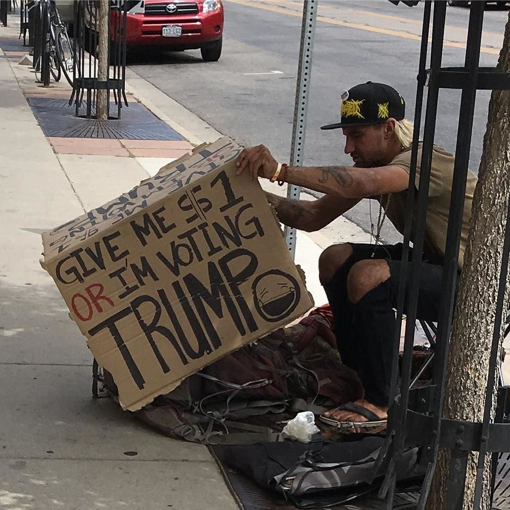 Shit just got real with Boulder's homeless community. #boulder #vote https://t.co/iiEtsHWU55