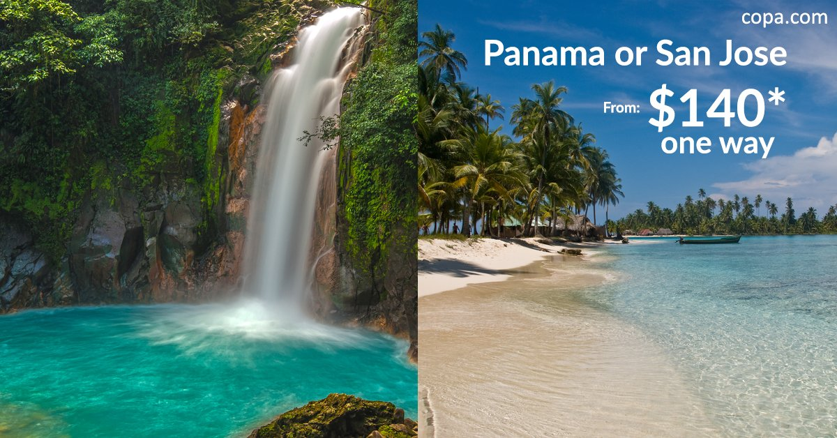 Tampa We have the BEST FARES to Central America just for you from AUG10 to AUG14 --->