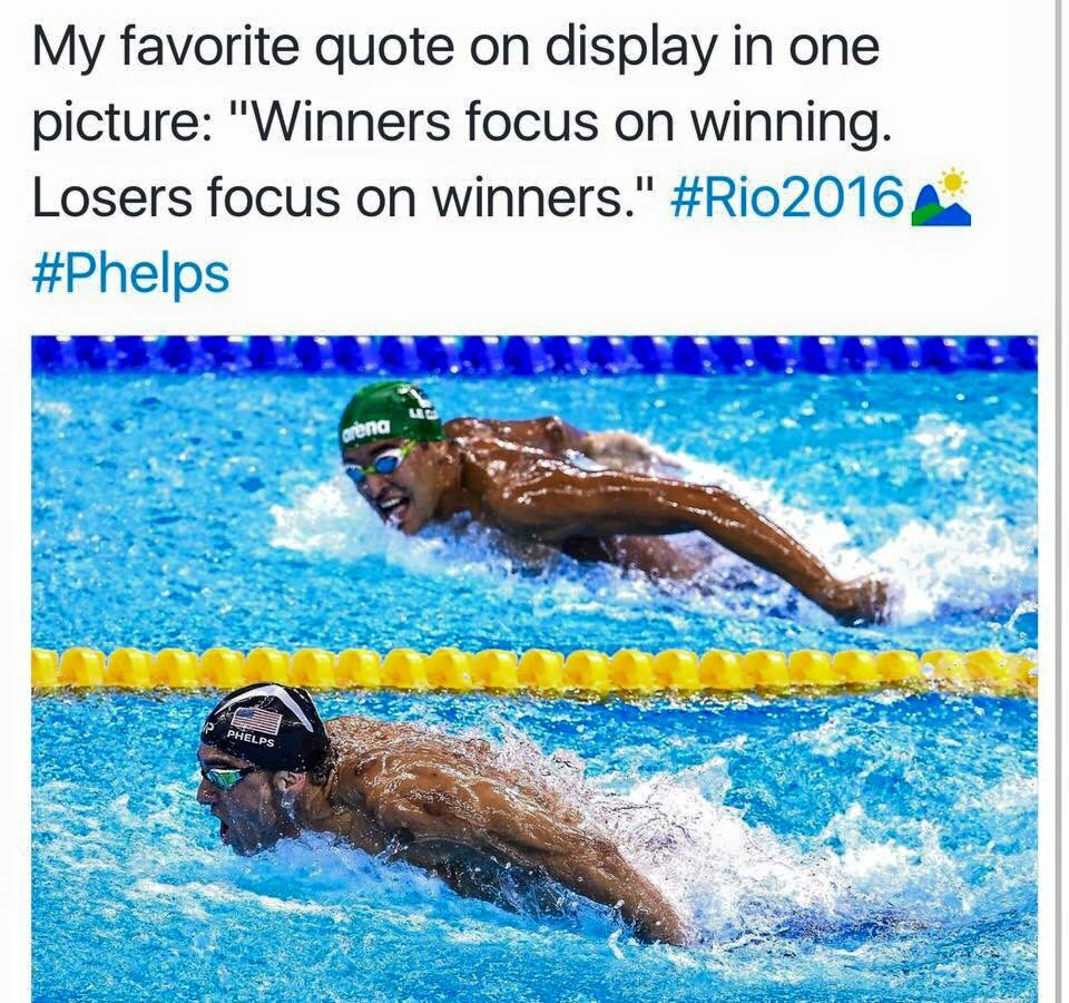 I watched the replay and counted him looking over at Phelps 9 times during the race! https://t.co/xTzO02bbwP