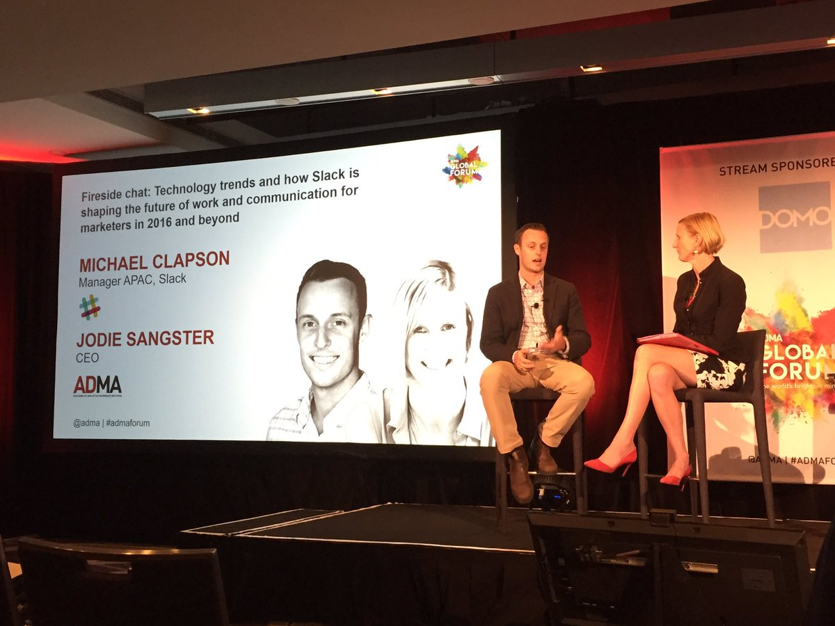 Great examples of how @SlackHQ is helping businesses be more nimble & productive! #admaforum https://t.co/CdIIPJ7bF5