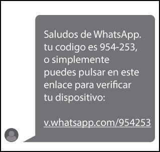 Si recibes un mensaje similar pidiendo verificar tu código de WhatsApp no sigas el enlace y bórralo directamente. https://t.co/Mr08JJJfaj
