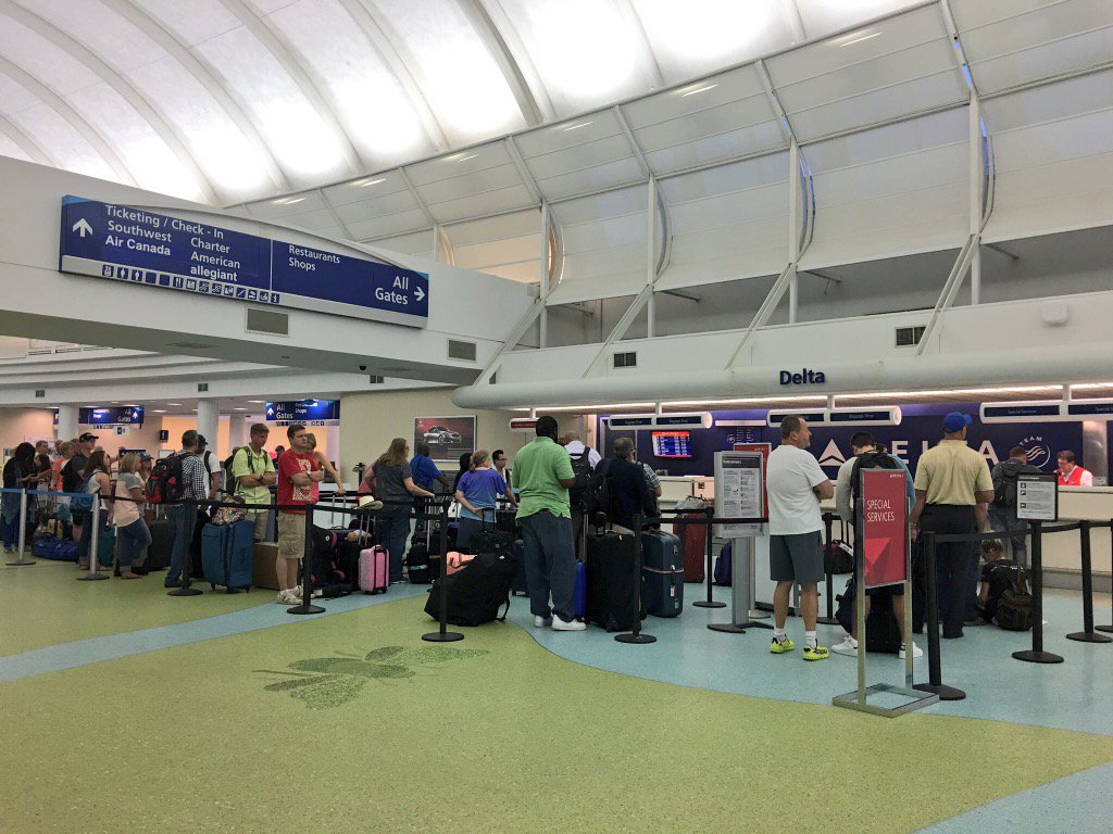 Delta expects 90 more flight cancellations; others predict more