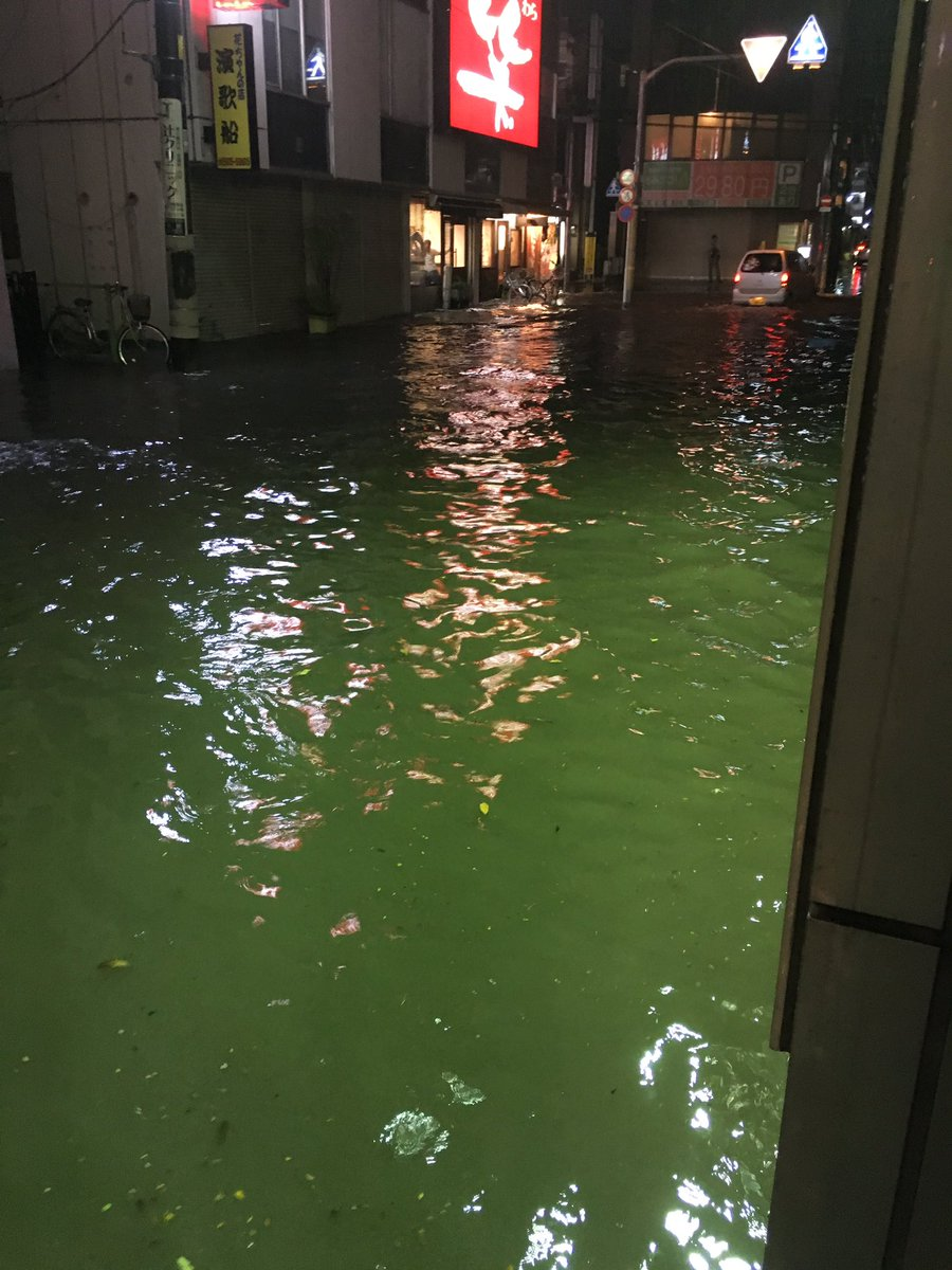 【現場画像】西武拝島線 東大和市駅など洪水・冠水状態の ...