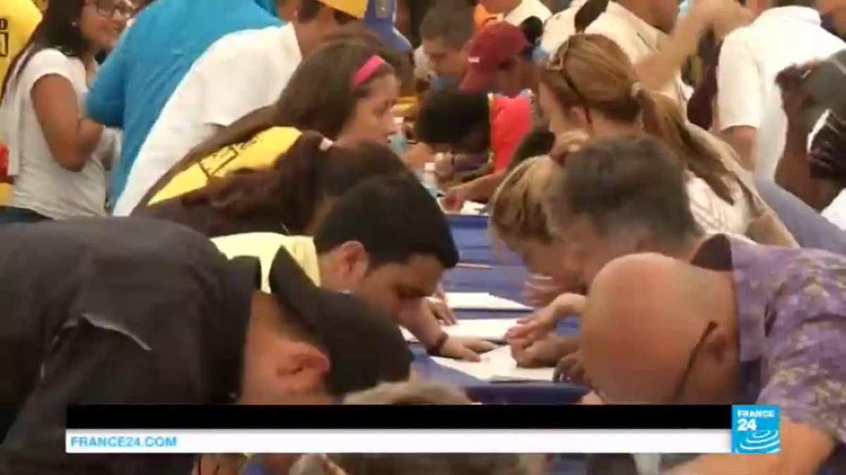 VIDEO -  Venezuela crisis: recall referendum against Maduro unlikely this year