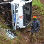School bus ferrying pupils to Nairobi for music festivals involved in accident
