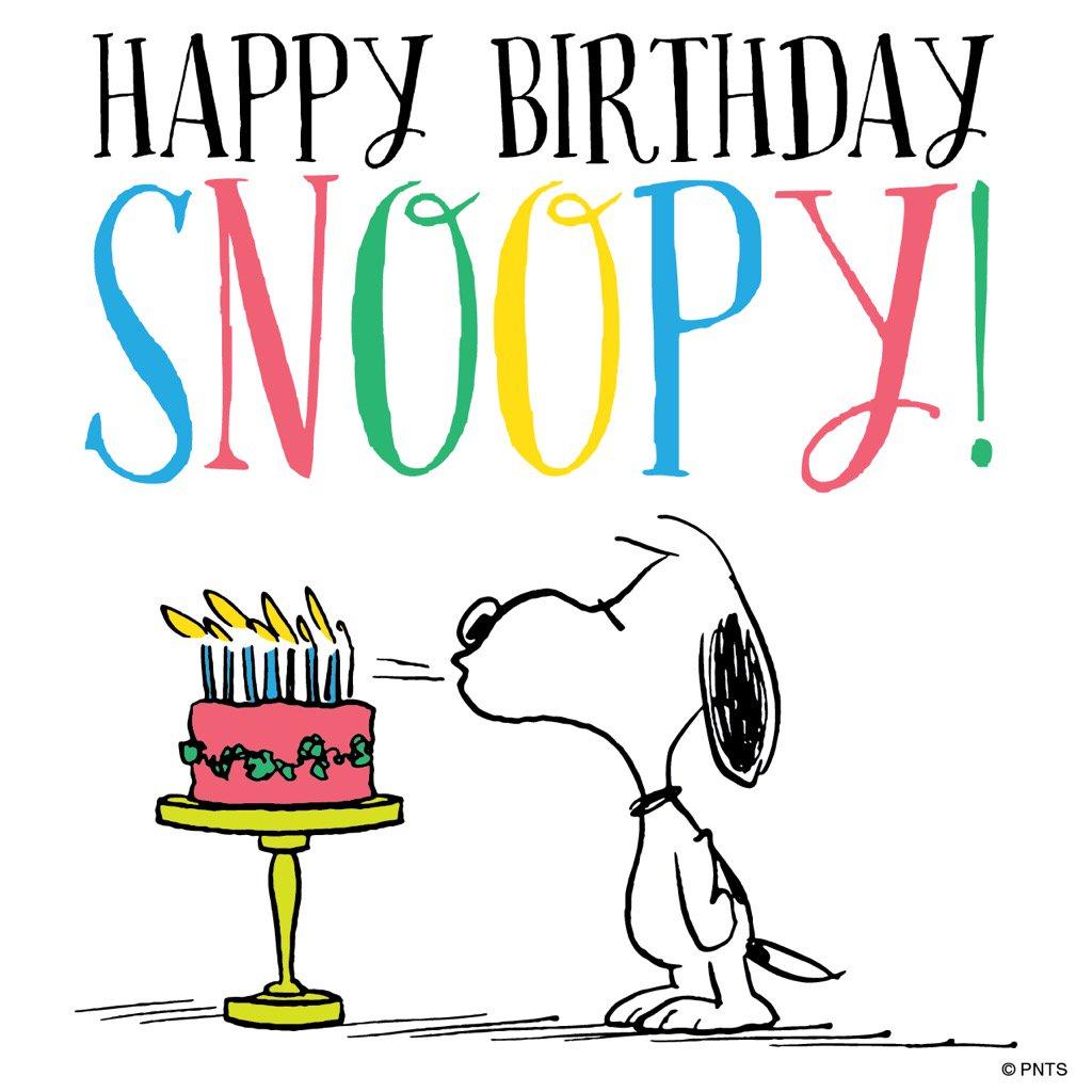 Peanuts happy birthday