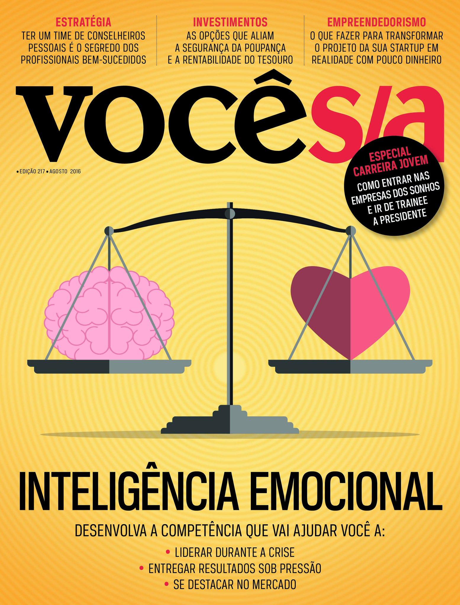 Como lidar com emoções como ansiedade e medo em meio a uma crise? Confira na nova edição da @vocesa, já nas bancas! https://t.co/OMHJyU2EtU