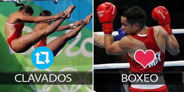 ¿QUÉ OPINAS? #Rio2016xFOX Al día de hoy, ¿cuál ha sido el deporte que ha decepcionado más para #MEX? ¡Da RT o MG! https://t.co/mr8NTYXhSl