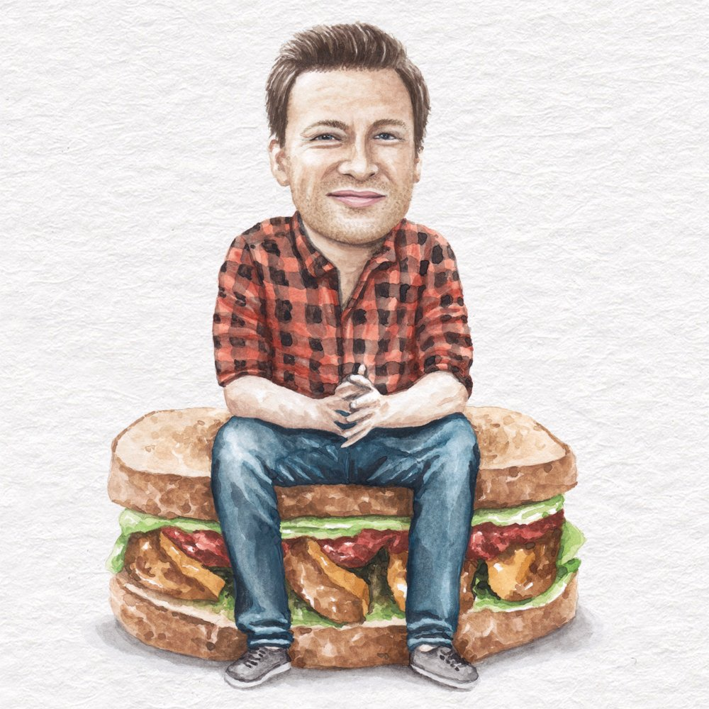 RT @celebsonsammies: @jamieoliver on his cheesy sweet potato, avocado and ketchup sandwich #FamilySuperFood https://t.co/CCwB409yWv https:/…