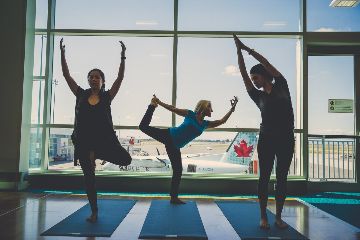 RT @theAPEXassoc: Namaste at the Airport: Passengers Enjoy Exercise During Layovers -> yoga PaxEx AvGeek https:/…