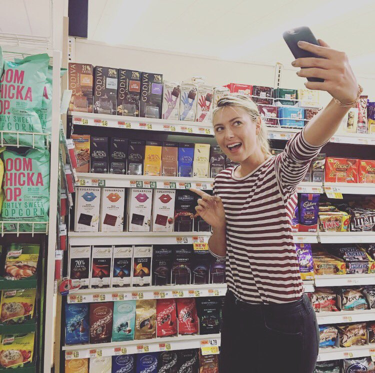 Seeing the @sugarpova chocolate on shelves for the first time! Thanks @bigyfoods!! https://t.co/Zzlc6IICnI