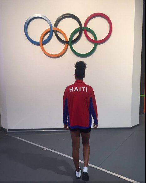 #Haiti #Rio2016 You have already won the gold in pour hearts @NaomyHope BRAVO!!! https://t.co/MkHC1UAjVn