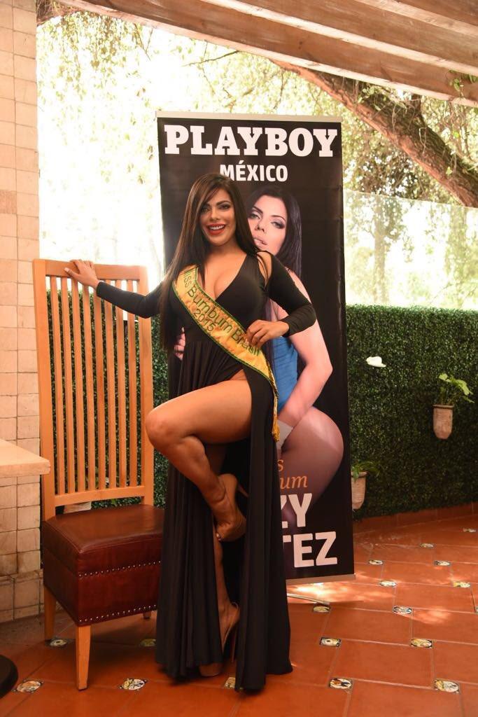 RT @PlayboyMX: ¡Bellezas! Conferencia de Prensa con @SuCortezOficial y @jessyjensen portada y playmate de Agosto respectivamente. ???? https:/…