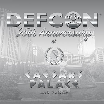 .   #DEFCON 25 will be held at #Caesars July 27-30, 2017! Get our group rate now at https://t.co/1AE5DxO486. https://t.co/TzINRHhS80