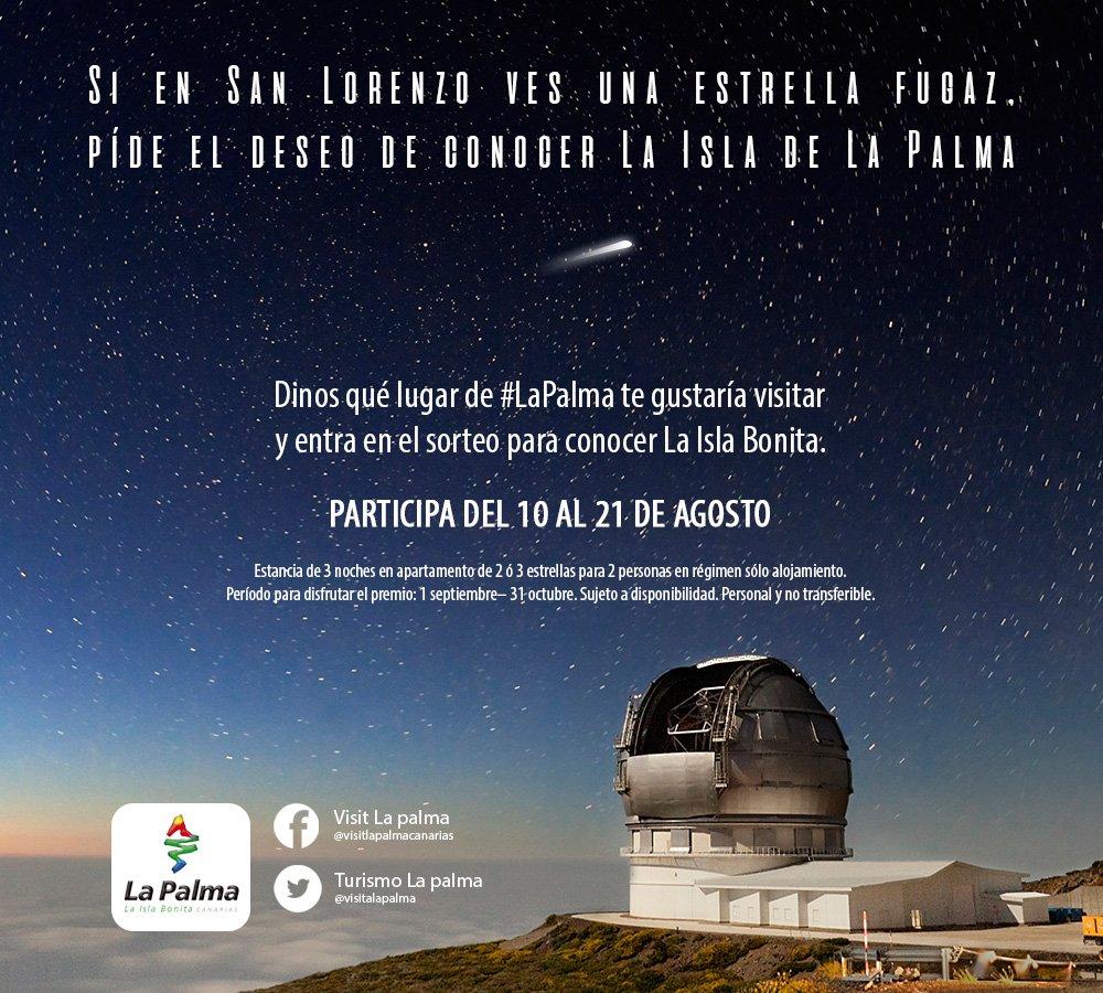 ¡Estamos de sorteo! Dinos qué lugar de #LaPalma te gustaría visitar. ¡Hay premio! https://t.co/MAiw4T3OZy