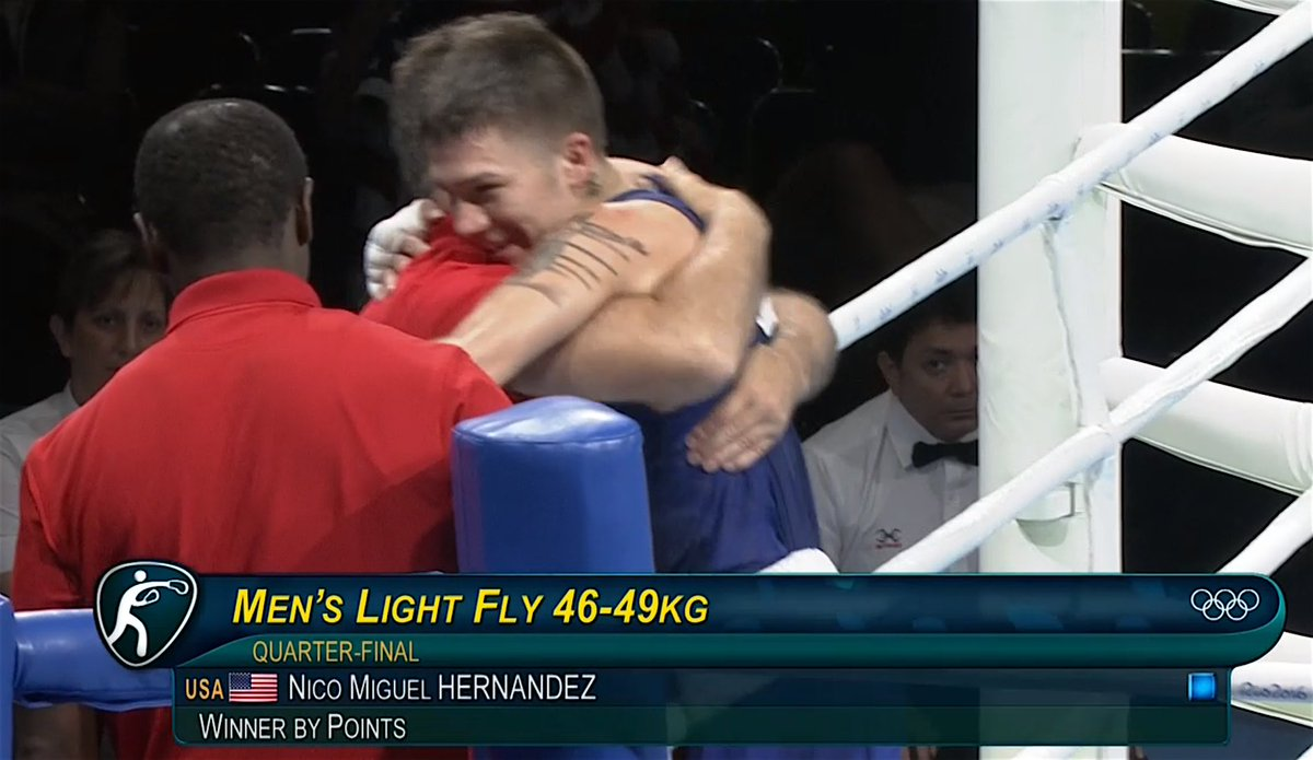 It's been 28 years since a light flyweight won a medal. NICO HERNANDEZ JUST CHANGED THAT. #Rio2016 https://t.co/T3mXbIax7i