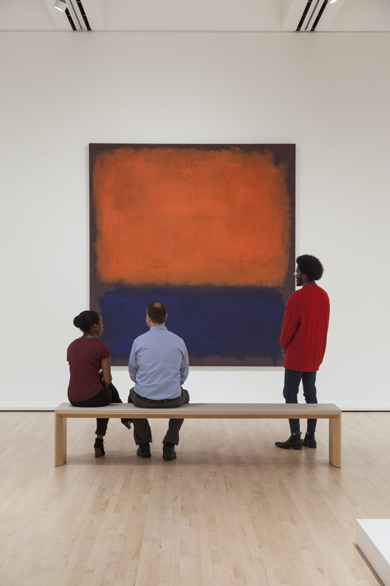 """A painting is not about an experience. It is an experience.""- Mark Rothko [No. 14, 1960, 1960] #WednesdayWisdom https://t.co/KfCShQHFju"
