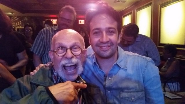 Spamilton was a great! & OMG, Lin Manuel there 2. He's a huge MAD fan & we met, hugged & took selfies. https://t.co/uihf0iUs2u