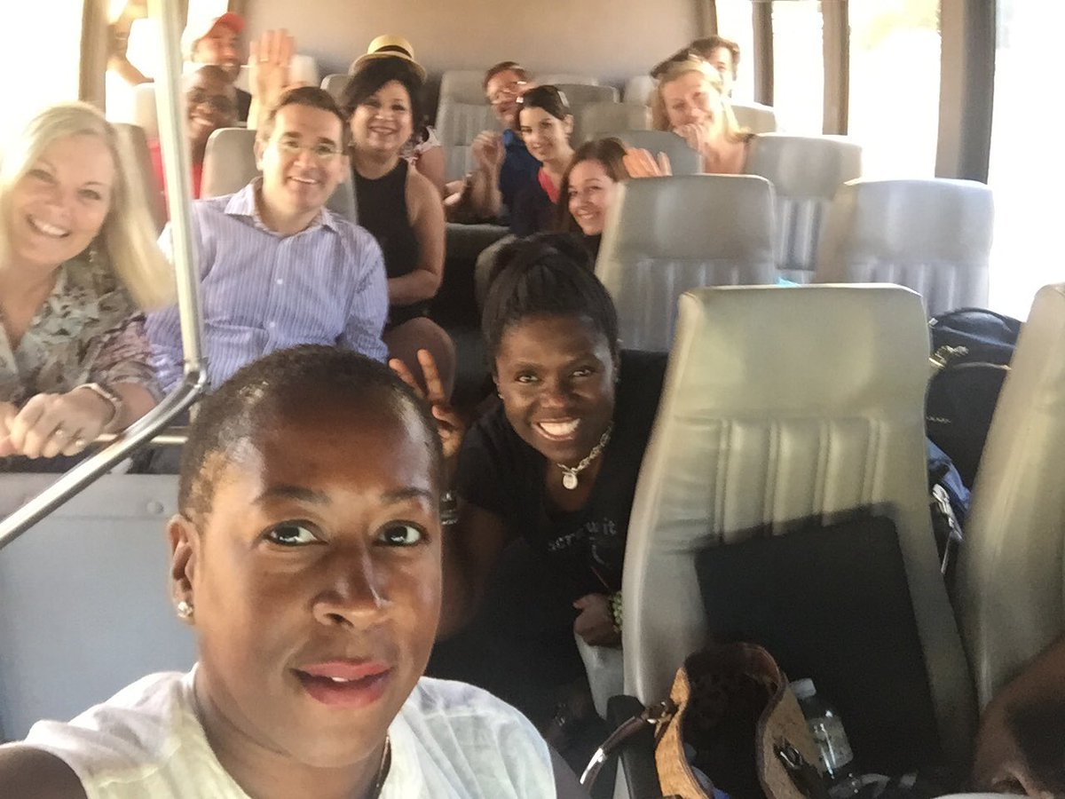 The #AmadorWine group is excited for our excursion @WineBloggersCon #WBC16 #winelover https://t.co/cvkt2a1x6J
