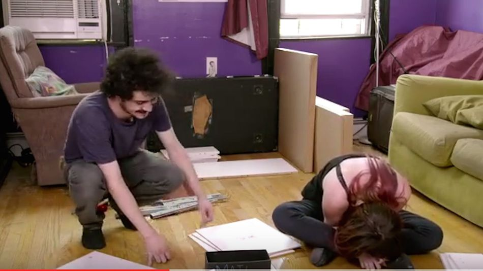 Watch People Put Together Ikea Furniture While High On Youtube