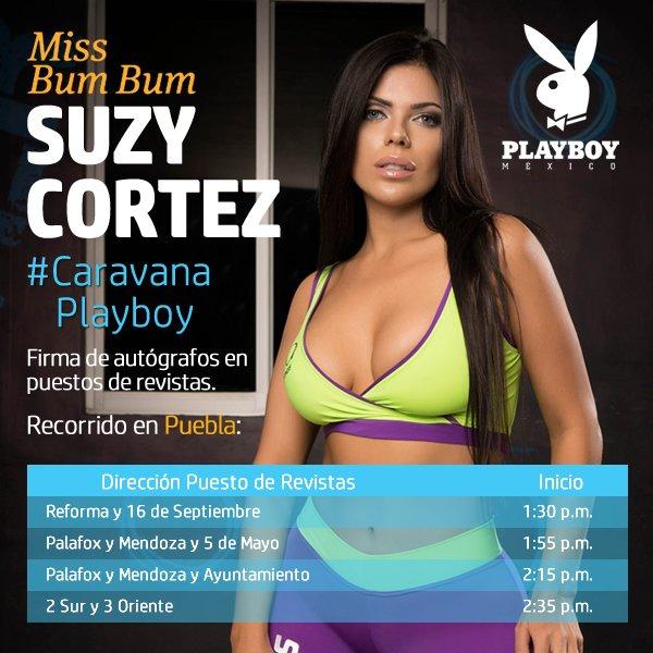 RT @PlayboyMX: ¡Amigos de #Puebla! Nos vemos este 12 de Agosto en la #CaravanaPlayboy con nuestra hermosa portada @SuCortezOficial https://…