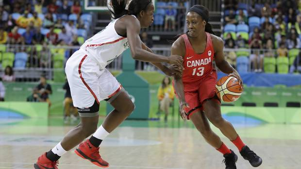 Canada's women's basketball team 3-0 for first time in Olympic history From @Globe_Sports
