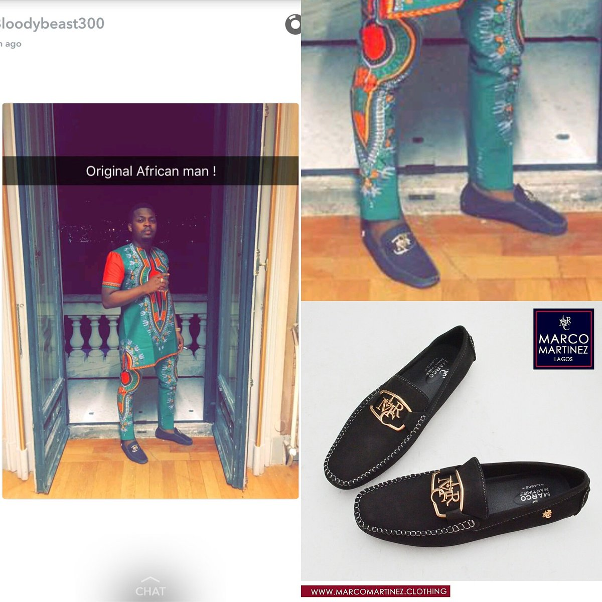SPOTTED! @olamide_YBNL rocking the Marco Martinez MRC drivers
