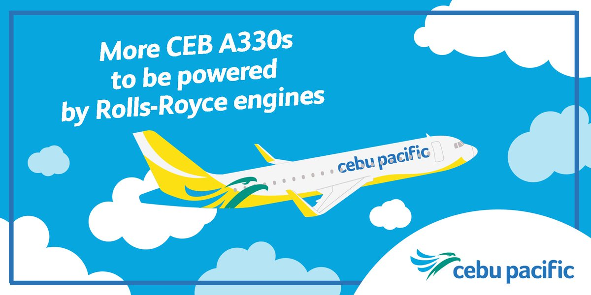 Cebu Pacific selects Rolls-Royce Trent 700 engines for two more Airbus A330 aircraft orders.