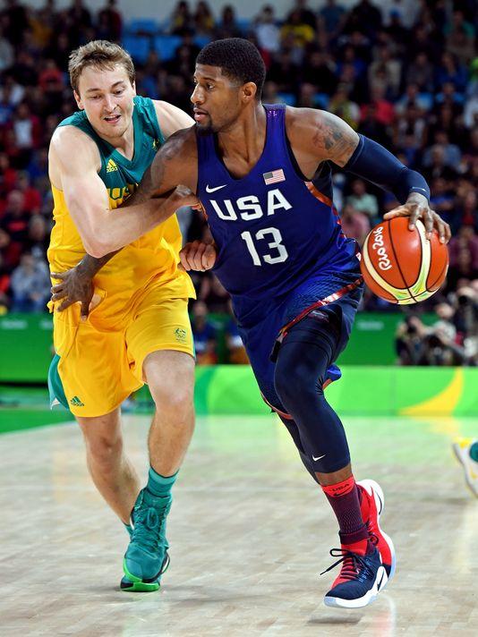 USA basketball's Paul George: Australia has