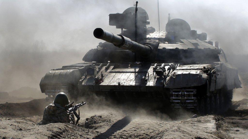 Ukraine puts military near Crimea on alert amid Russia tensions