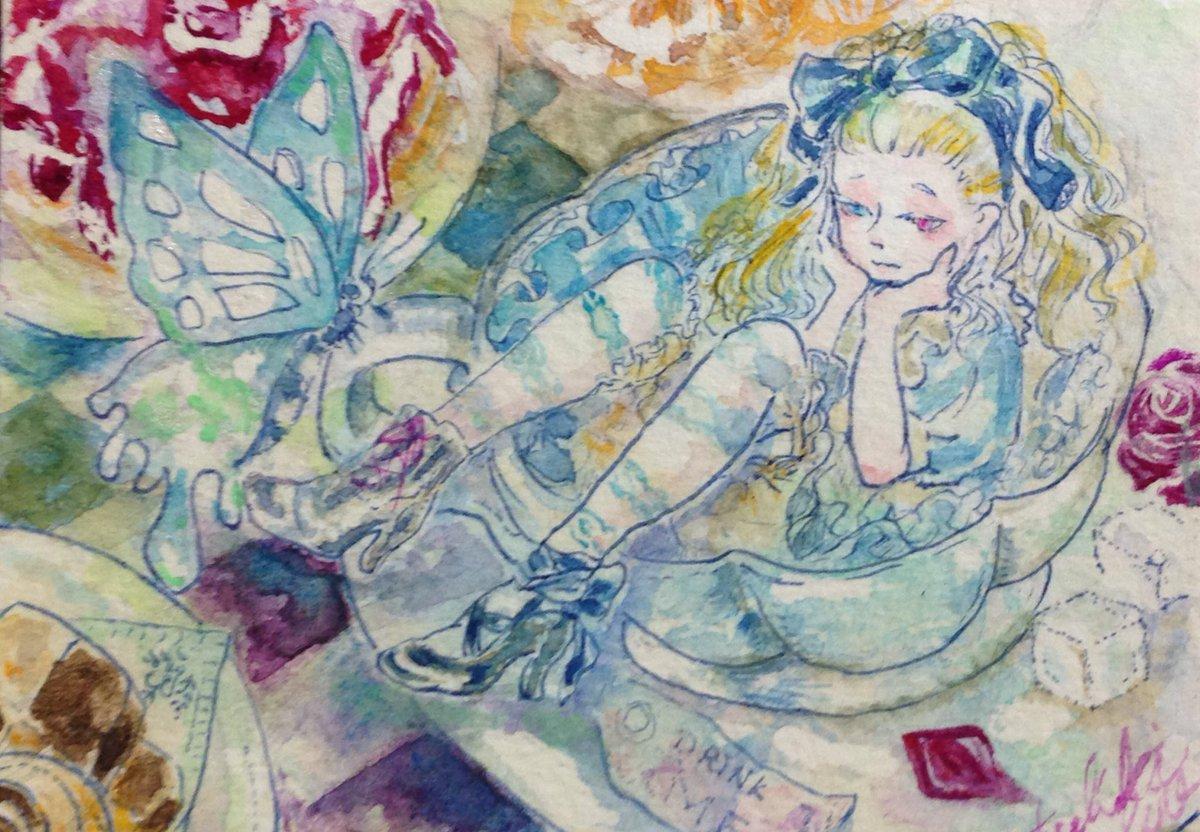 ぱっつんと少女とケモノで満たされるタイプの人間です。透明水彩や墨メインで描きます。 RTメインで巡回します。よろしくお願いします。  #夏の創作クラスタフォロー祭り https://t.co/V87iHRkGV7