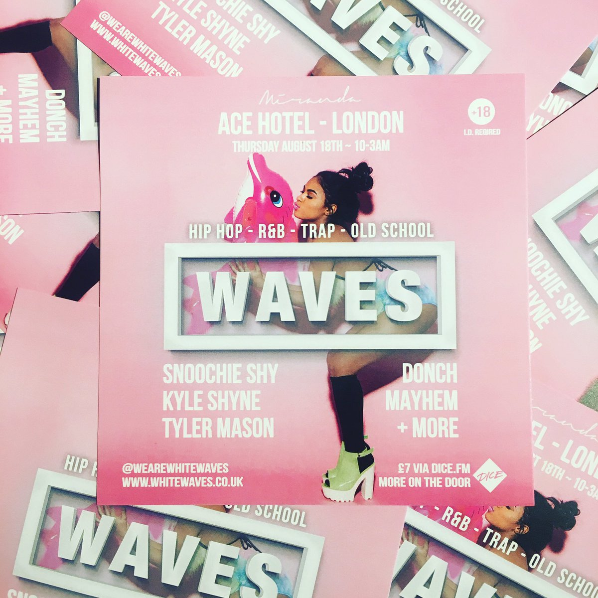 1 week until #WavesParty tickets and more info can be found here: https://t.co/iQlZdgkiOU