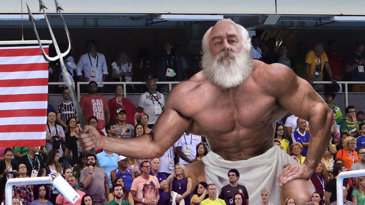 Michael Phelps Spots Estranged Father Poseidon In Stands https://t.co/APV8b0X74i #Rio2016 https://t.co/9vQ1j1cBJu
