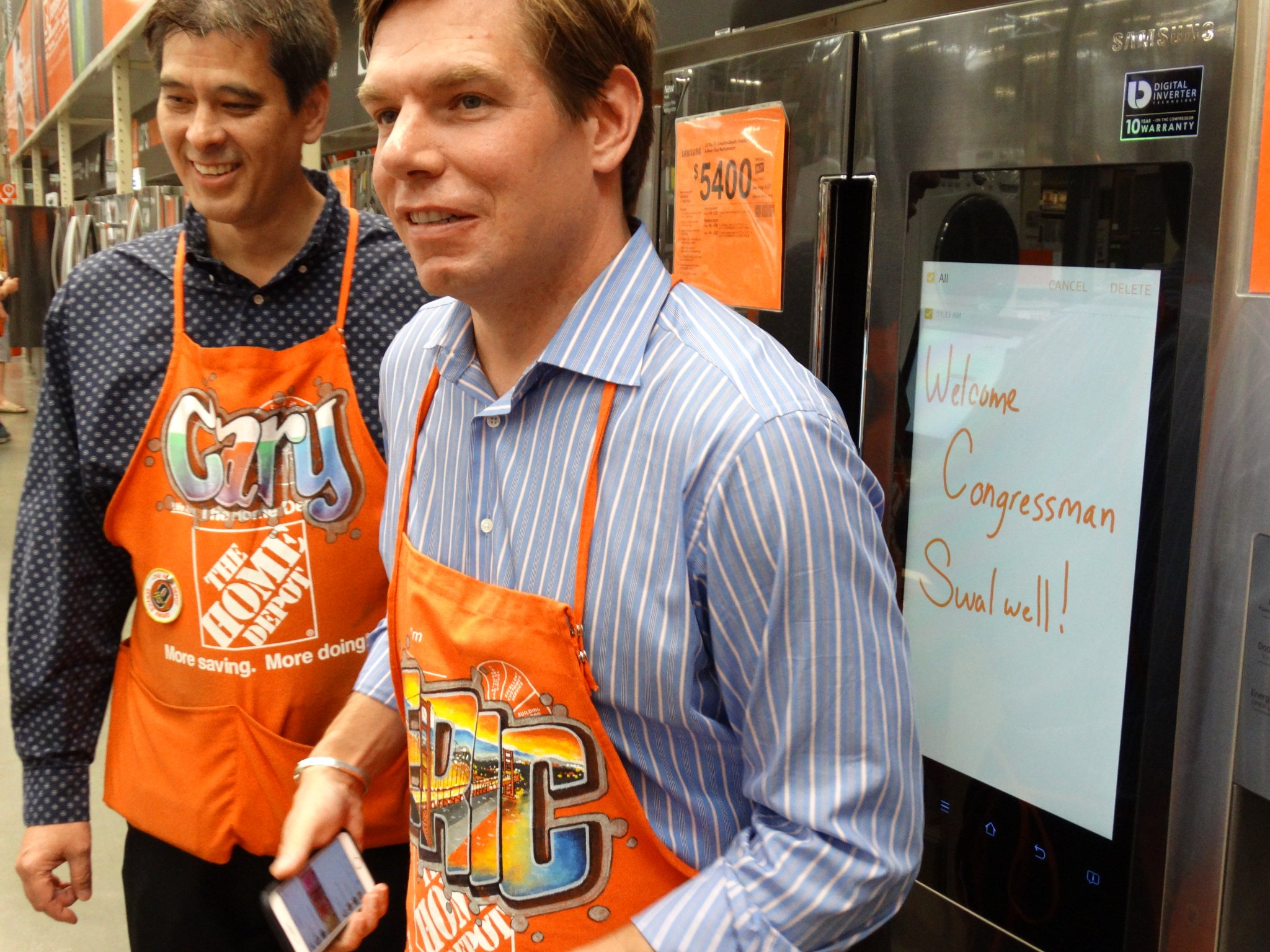 Thanks to the crew at Pleasanton's @HomeDepot store 629 for a warm welcome during my #InYourShoes visit last Friday! https://t.co/2OnVJswpTC