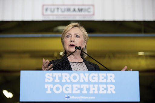 In Michigan speech, Clinton stresses opposition to Asia trade pact