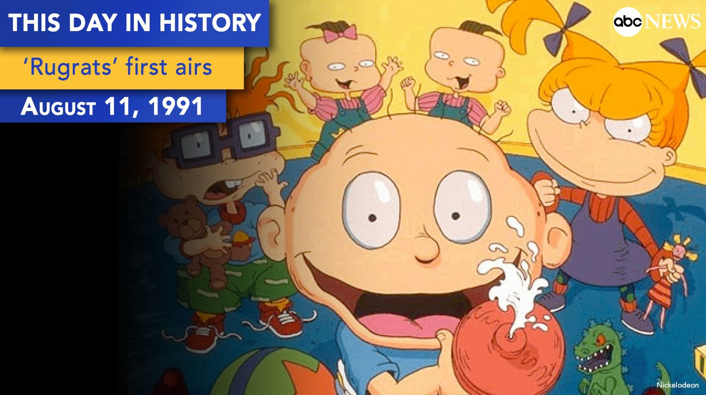 'Rugrats' debuted on this day 25 years ago. https://t.co/Pj0wjWJ2qh https://t.co/hxQsmjE7EG