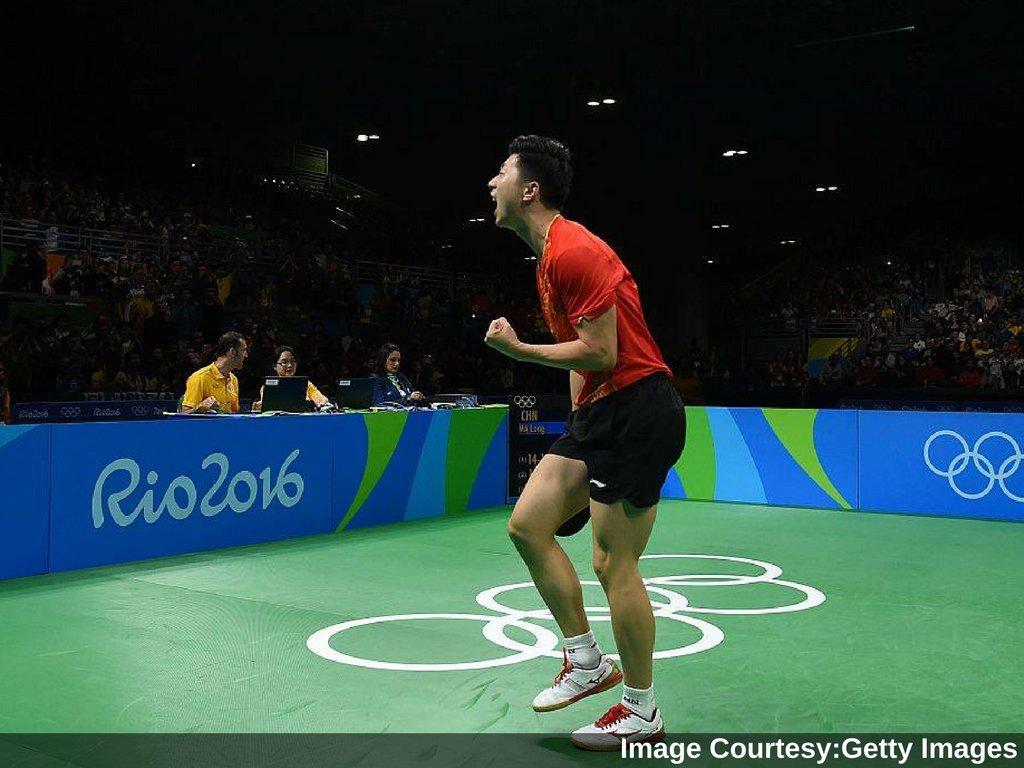 Rio2016 Chinas Ma Long Wins Mens Tabletennis Gold At Olympics