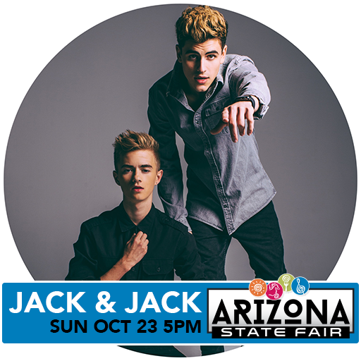 #2016VeteransMemorialConcertSeries - #Jack&Jack 10/23 at #ArizonaStateFair Win tix-> https://t.co/PJ4hcUcLBC https://t.co/OTRqmsEP5A