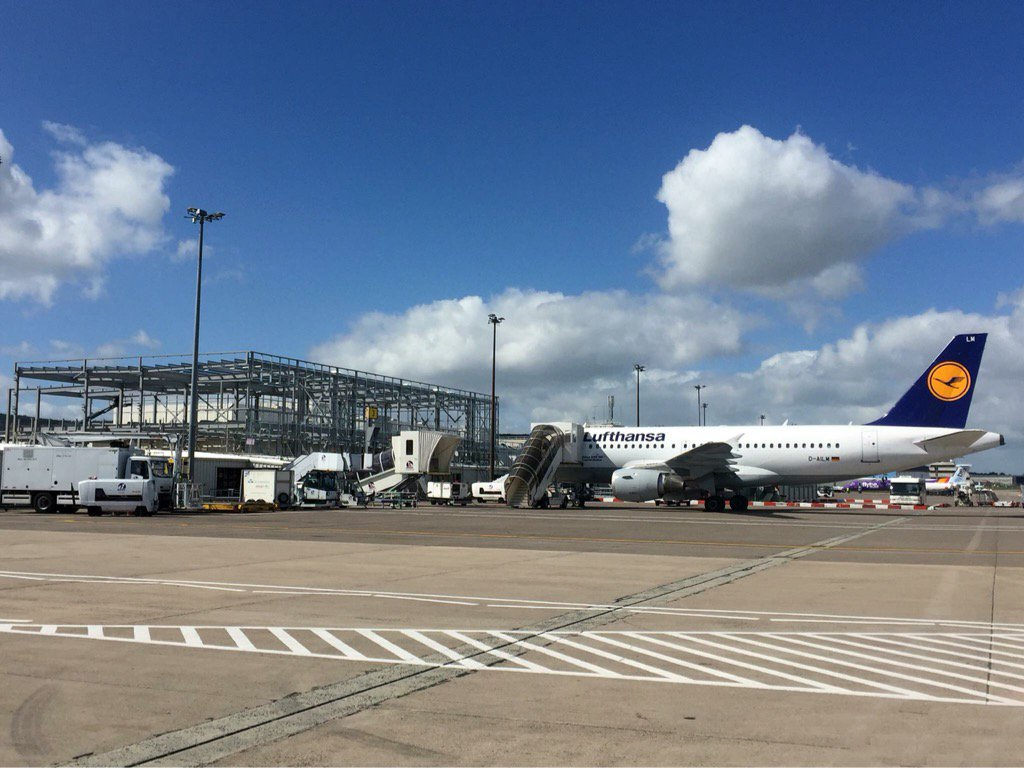 Our £20m terminal transformation project is moving on nicely...