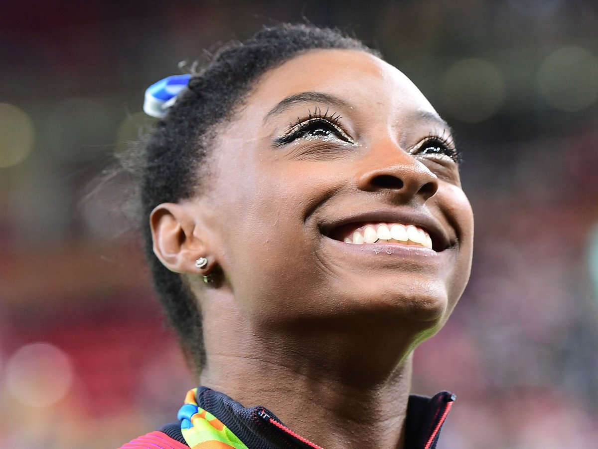 'I'm not the next Usain Bolt or Michael Phelps, I'm the first Simone Biles' https://t.co/tPk7DAOMfV #Rio2016 https://t.co/uLBM8CBZgy
