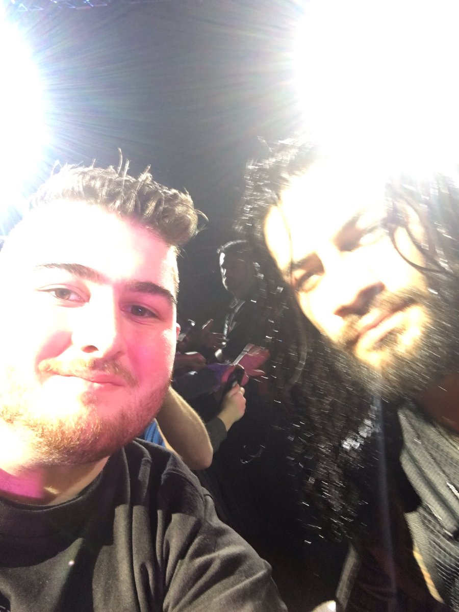 Roman's the freakin man! #WWEAdelaide https://t.co/zJ0nfNTYzd