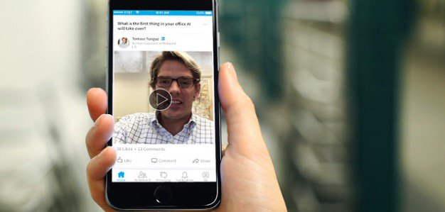 LinkedIn Finally Introduces Video!! Hurrah! https://t.co/QhHNP6exfp https://t.co/4aoa7Ohx0E