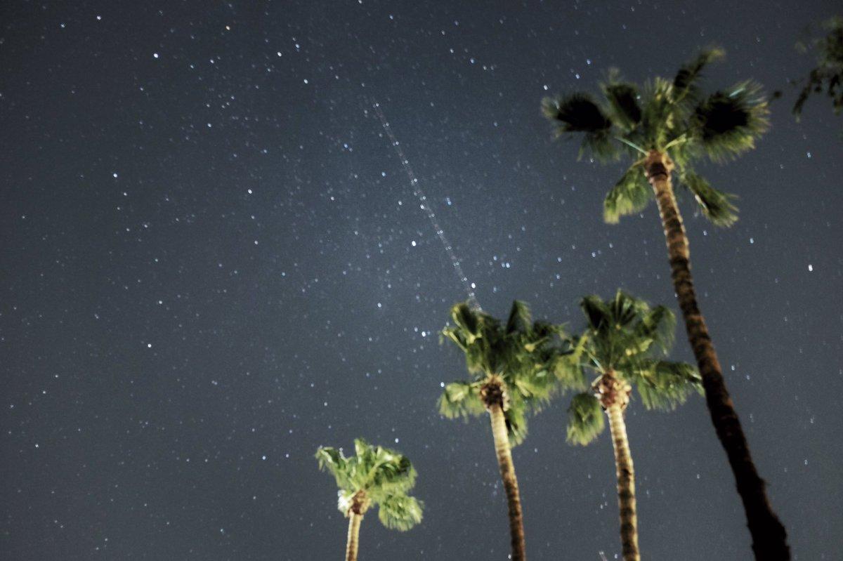Perseid Meteor Shower in Palm Springs: