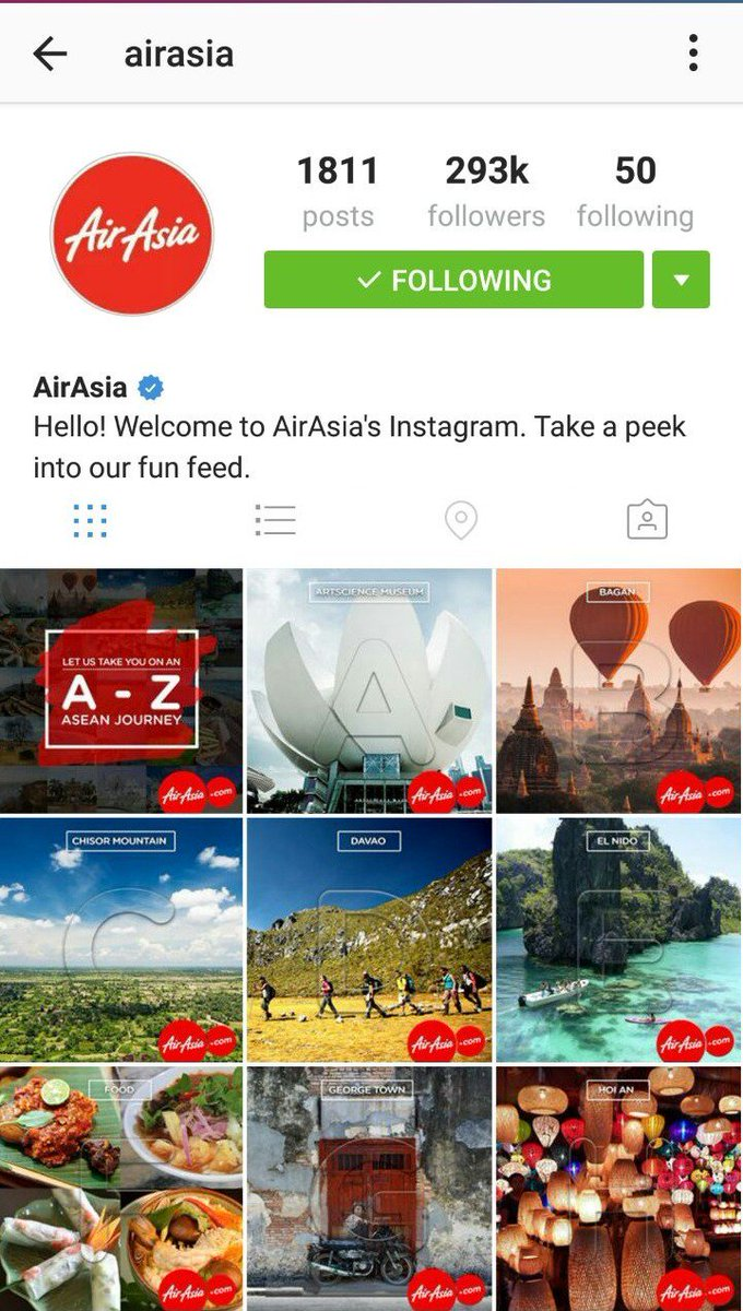 You must check out our Instagram account at for an A-Z journey across ASEAN!