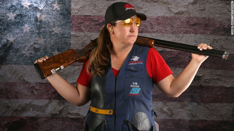 'We should have the right to keep and bear arms': US Olympic skeet shooter rips gun control
