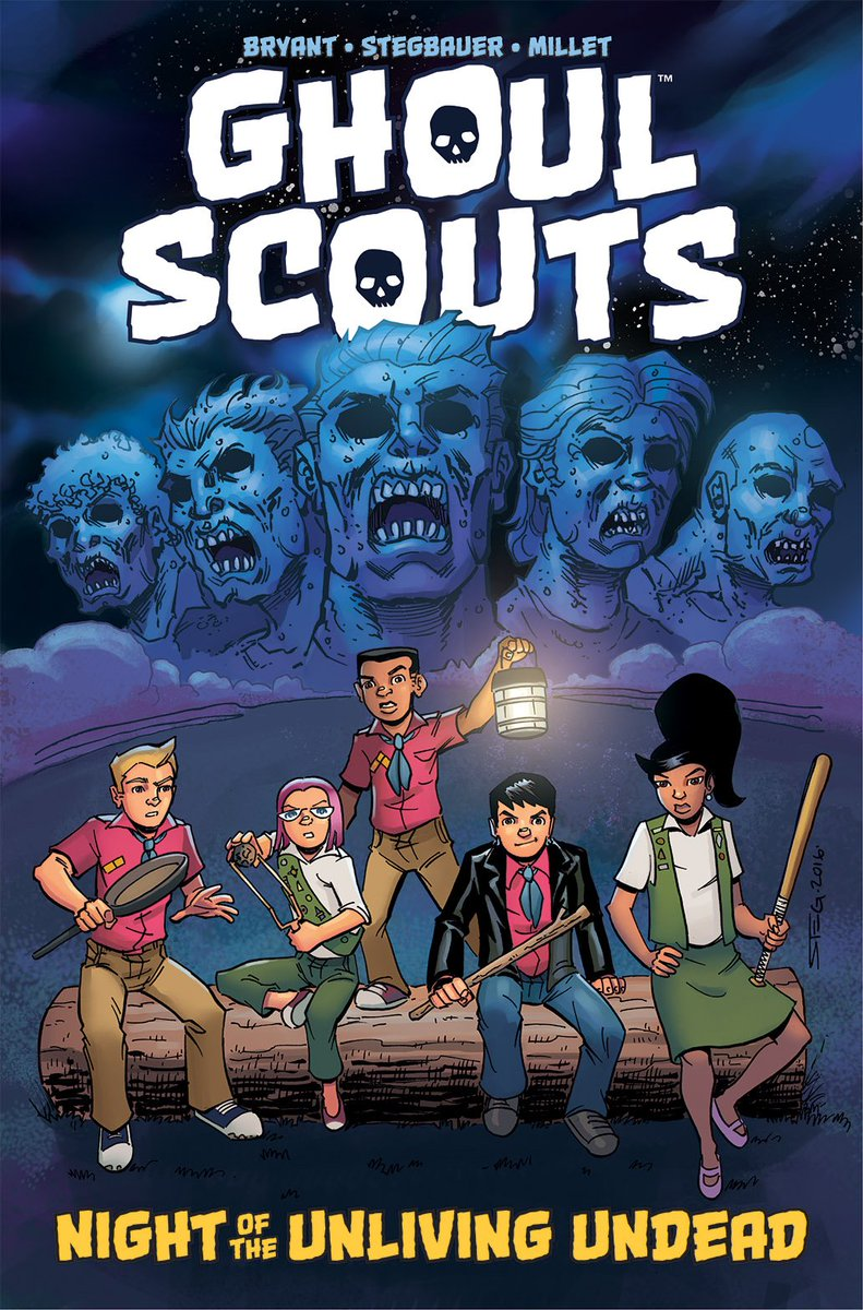 LIBRARIANS! The Ghoul Scouts GN can be preordered now! If you'd like a PDF, email SteveBryantArt at gmail. Please RT https://t.co/MOETi1qQYb
