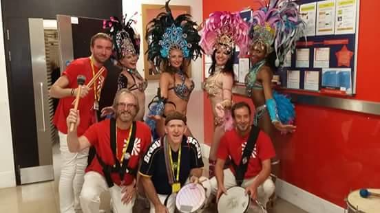 RT @sambalivrelpool: Bringing Rio2016 to @manairport! SambaLivre RioOlympics Brazilian carnival dancers RT h…