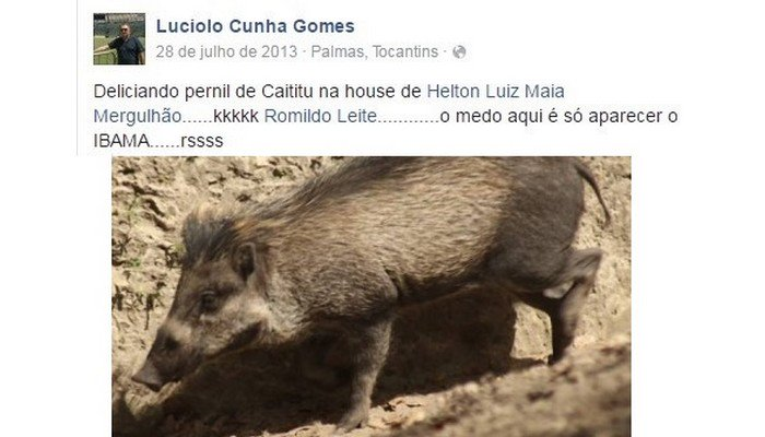 Nomeado para Ibama praticou crime ambiental e comemorou nas redes sociais. https://t.co/HyO837QmTK https://t.co/fPsoopgqBH